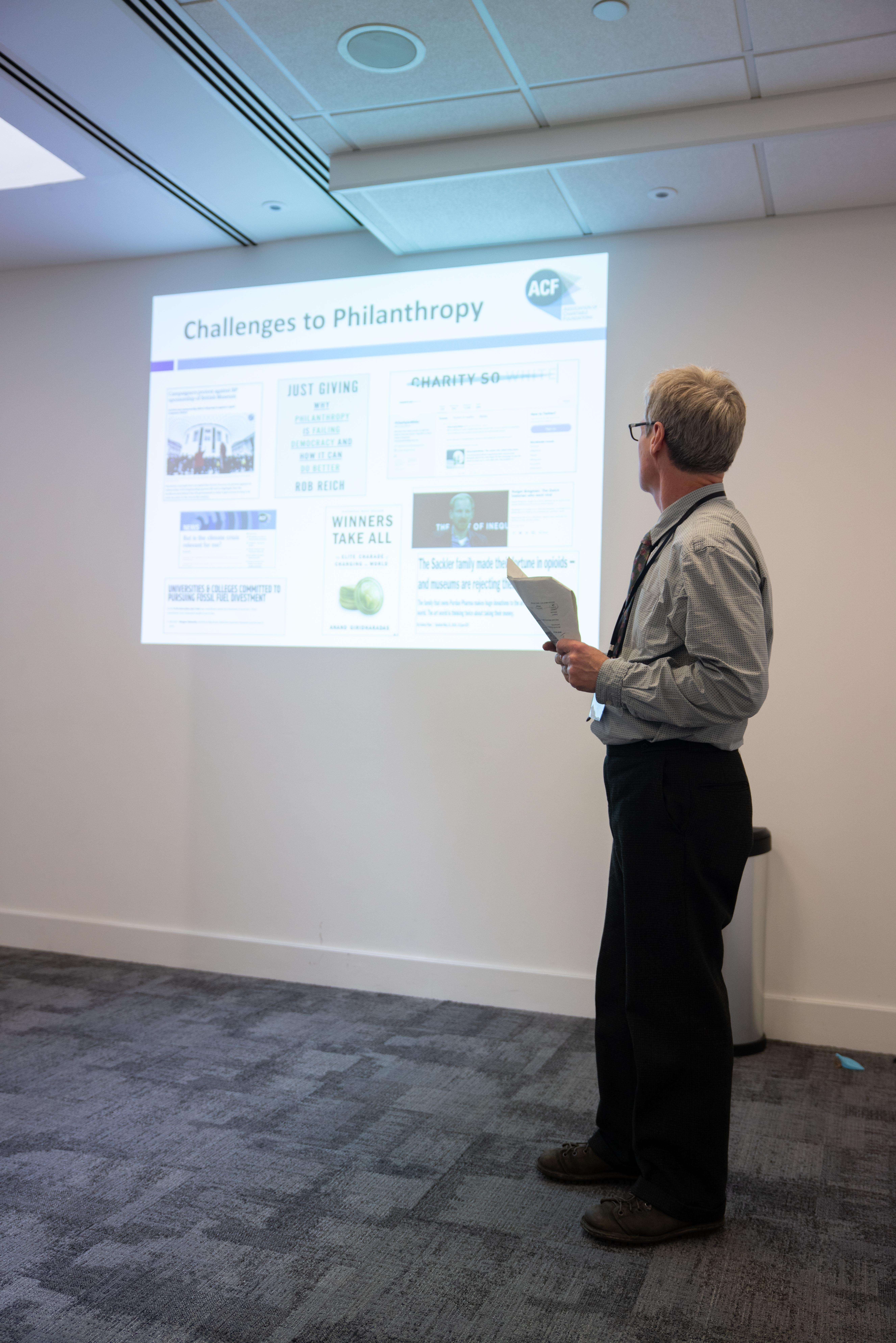 ACF's talk at Gallery Partnership's Annual User Group